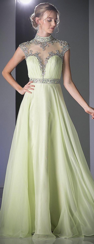 Modest ball gown modest prom dress cinderella divine c beaded