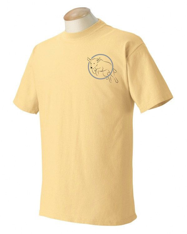 Chesapeake Bay Retriever Garment Dyed Cotton T-shirt vVqokHWBK