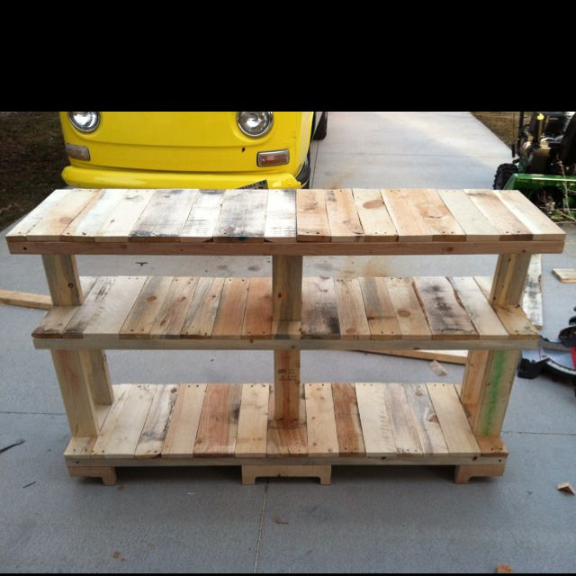 how to build a tv stand out of 2x4
