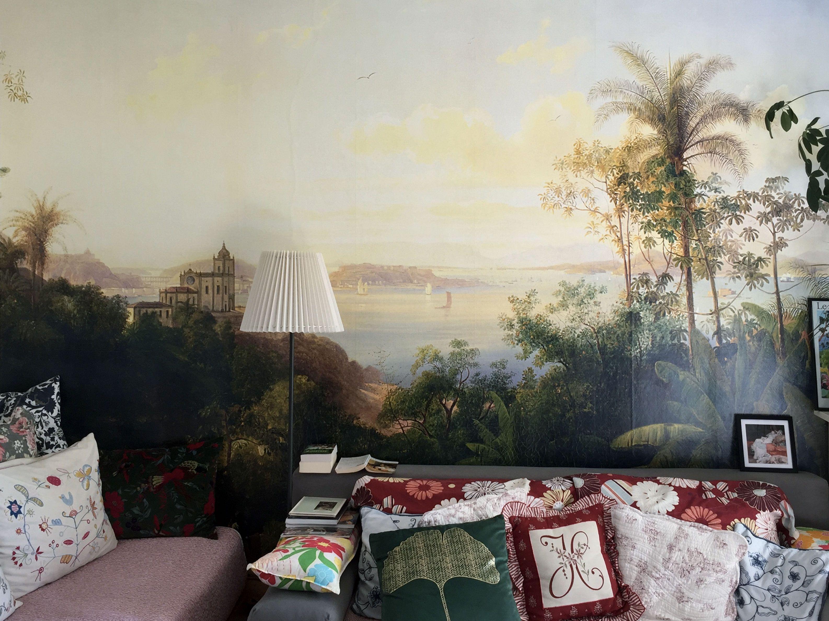 Le Decor Mural Sur Mesure Gloria Dans Le Salon De Lucile Un