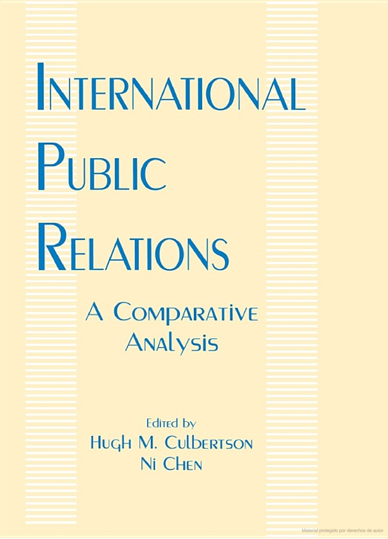 International Public Relations Public Relations Knowledge