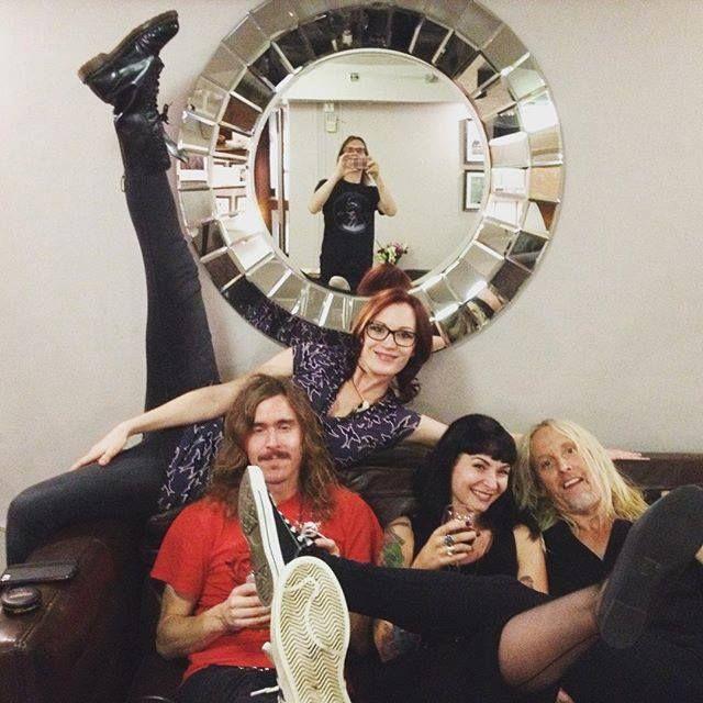 Backstage at Royal Albert Hall - Steven Wilson concert