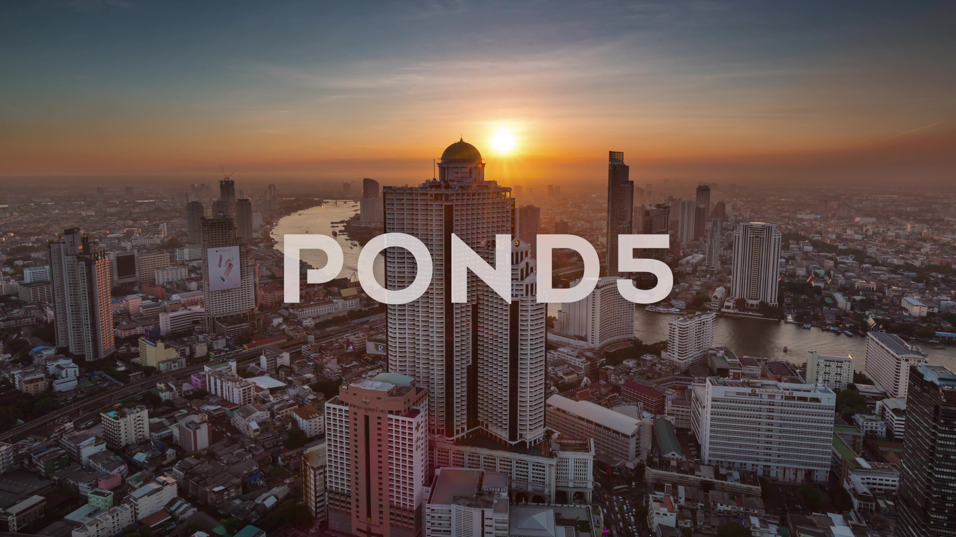 Famous Bangkok Hotel Roof Top City Panorama 4k Time Lapse Thailand Stock Footage Roof Top City Famous Patio Roof Pergola With Roof Roof Gardens London