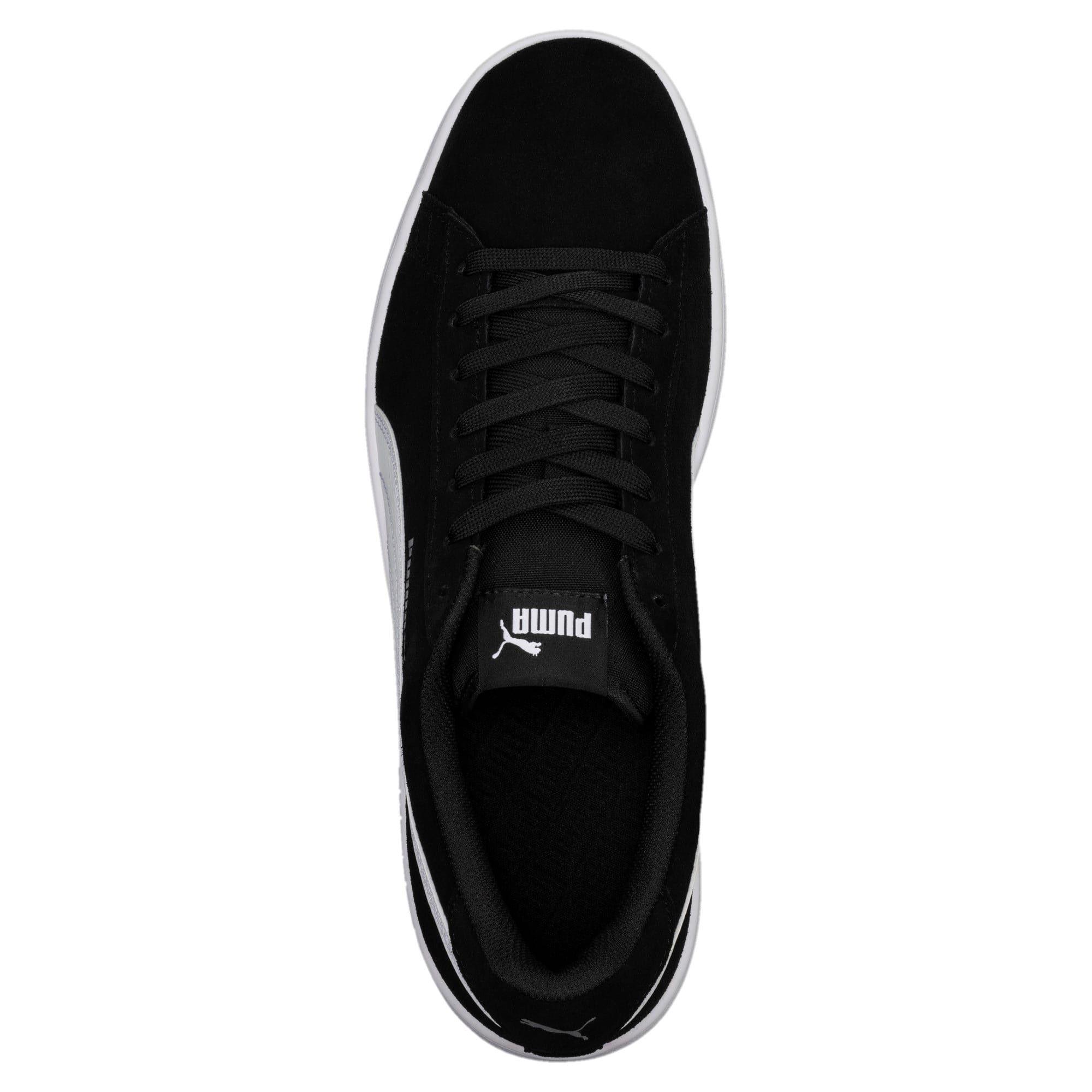 Basket Smash v2 | All black sneakers, Suede leather, Soft suede