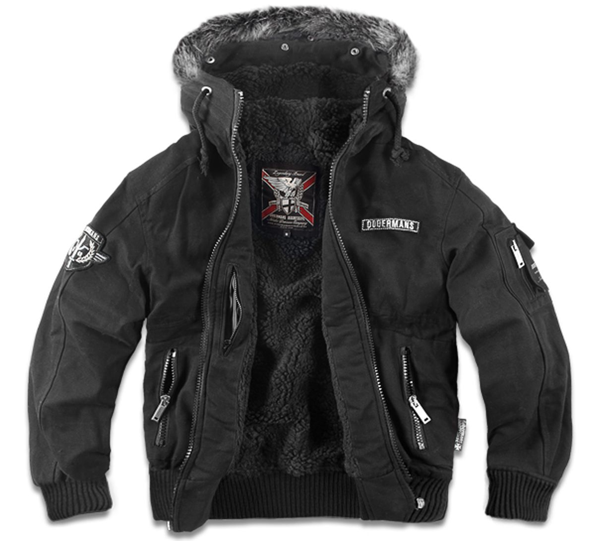 #Jacket from Dobermans Aggressive winter collection. Made from windproof  material keeping warmth. Equipped
