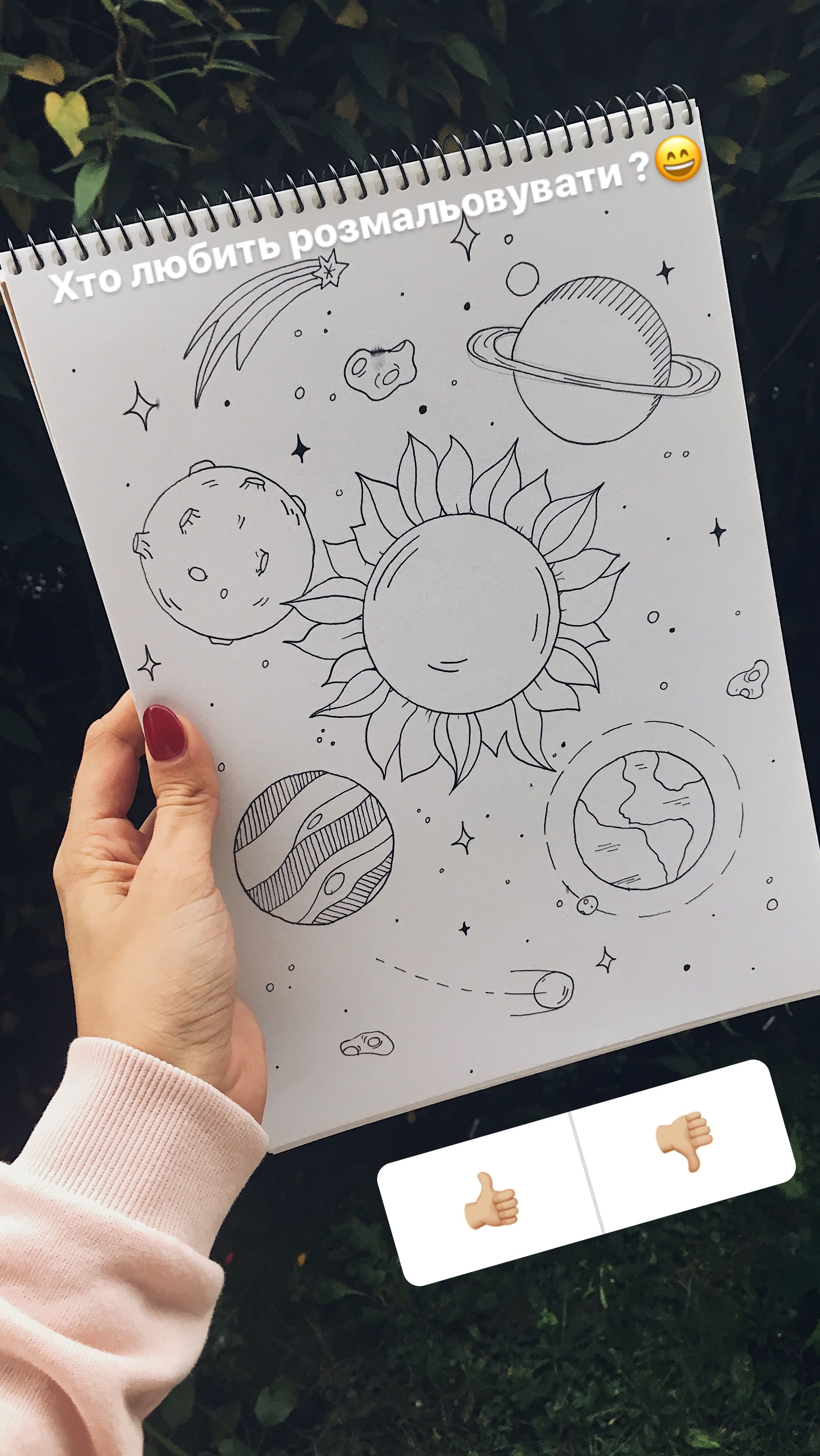 Solar system painting · скрапбукинг drawings of tattoos art drawings cute doodles drawings cute drawings tumblr