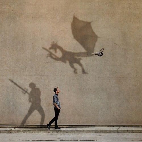 A fantasia está em nós.    -- Artista Desconhecido