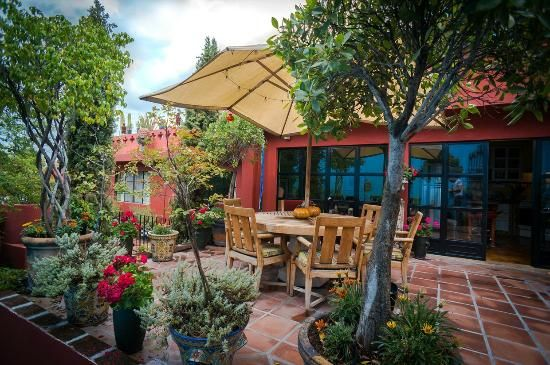 Beautiful Festive Mexican Patios And Courtyards.