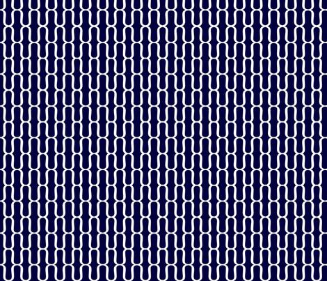 Navy Brackets fabric by avadesign on Spoonflower - custom fabric $18yd