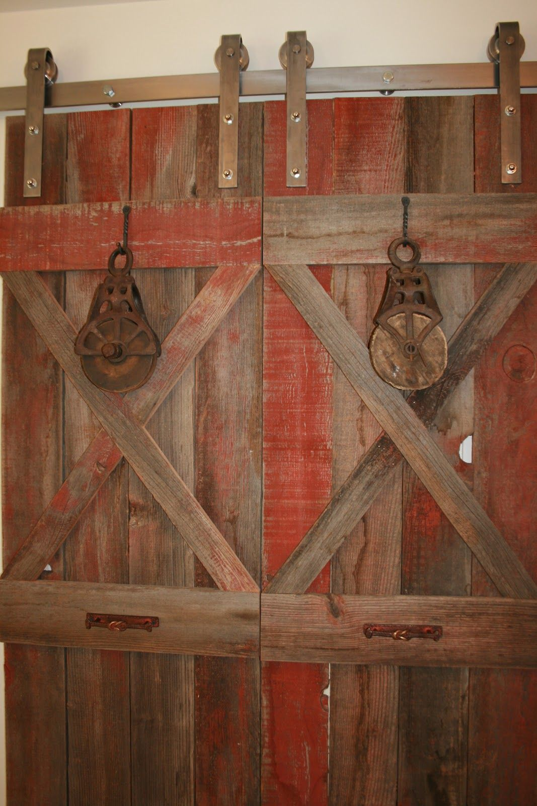 A great idea for using old barn wood inside your home! | Decor ideas ...