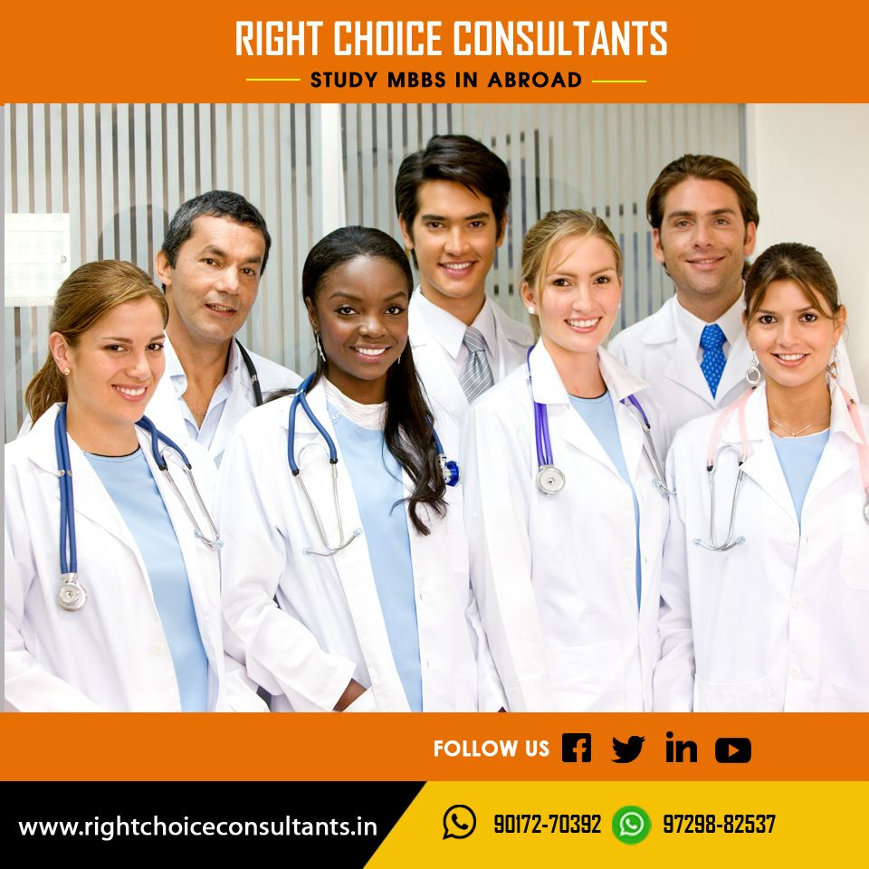 Right Choice Consultants helps you to study mbbs in abroad