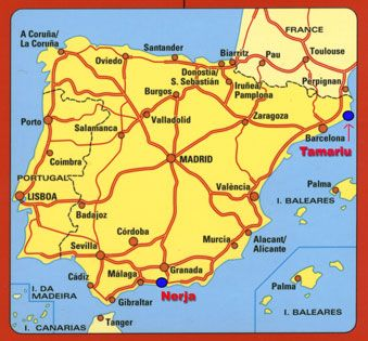 Tamariu Spain Located North East Of Barcelona And Just Below The