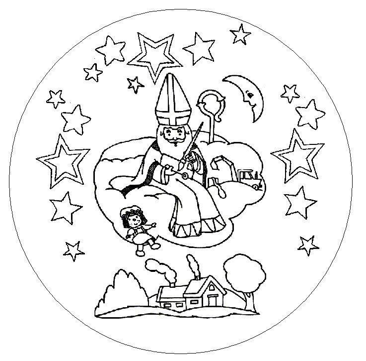 Pingl par mitsouko sur saint nicolas saint nicolas mandala et coloriage - Mandalas cycle 3 ...