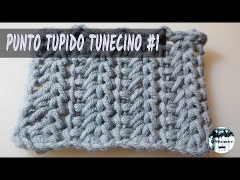 Tunisian lace 1 - Tunisian crochet - YouTube | Crochet videos ...