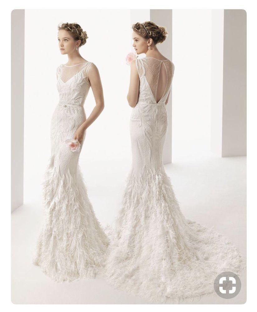 Rosa clara uma wedding dress ova again pinterest rosa
