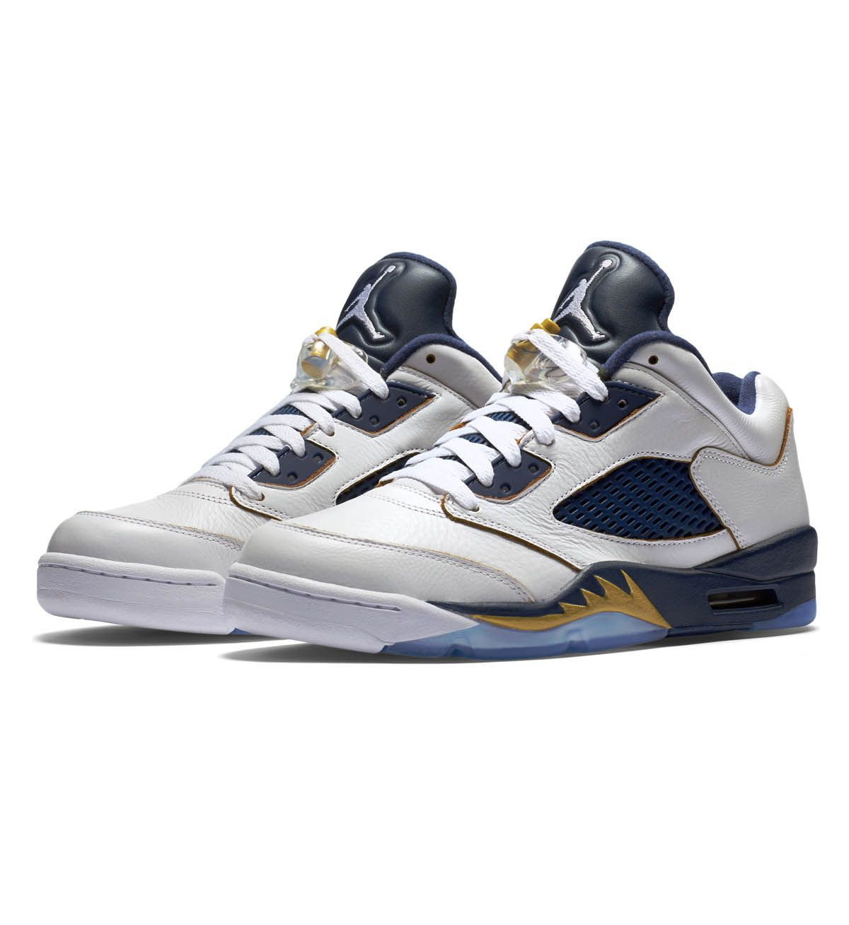 324834af461443 ... release date nike air jordan 5 retro low white metallic gold star navy nike  air 20fad