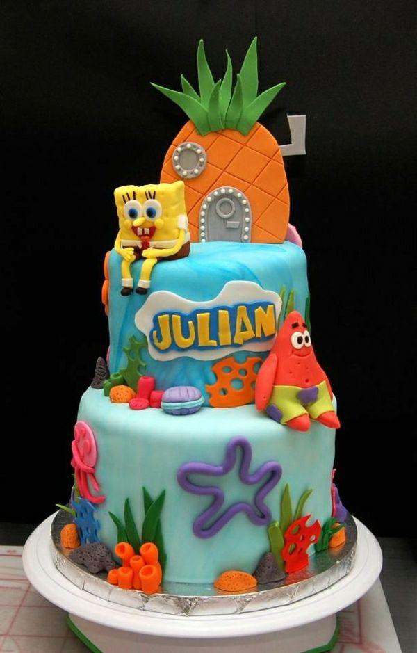 Spongebob Torte Bestellen Sch 246 Ne Torten Torten Verzieren