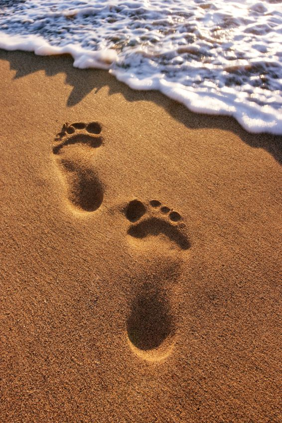 Image result for feet in sand