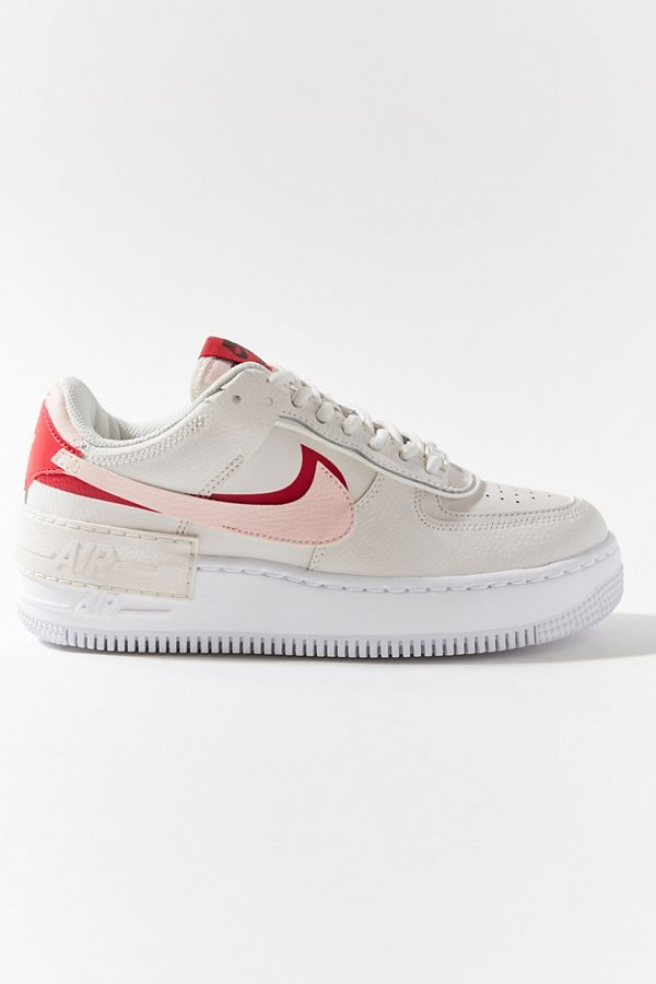 air force 1 shadow phantom rose et rouge femme