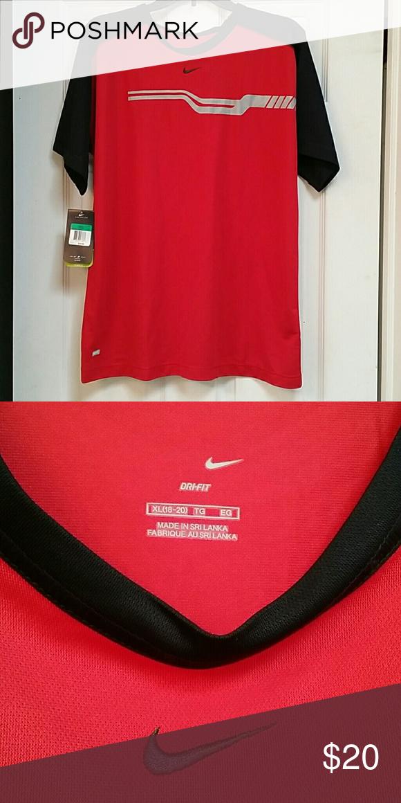 f99795a0cb Nike drifit training shirt New nike boys drifit shirt. Shirts   Tops Tees - Short  Sleeve