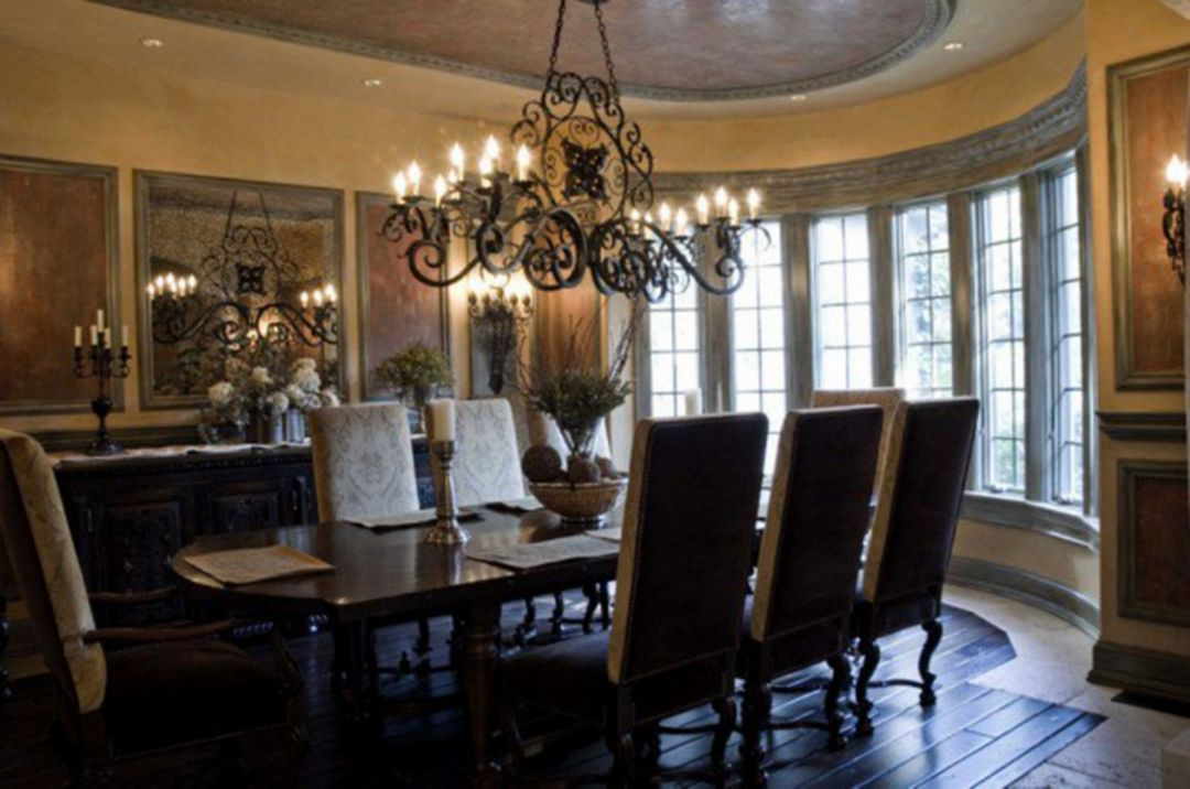 Adorable 40 Mediterranean Dining Room Design Ideas For Amazing Home Decorathing