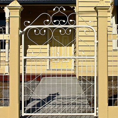 Australian Vintage Country Wrought Iron Gate Google Search