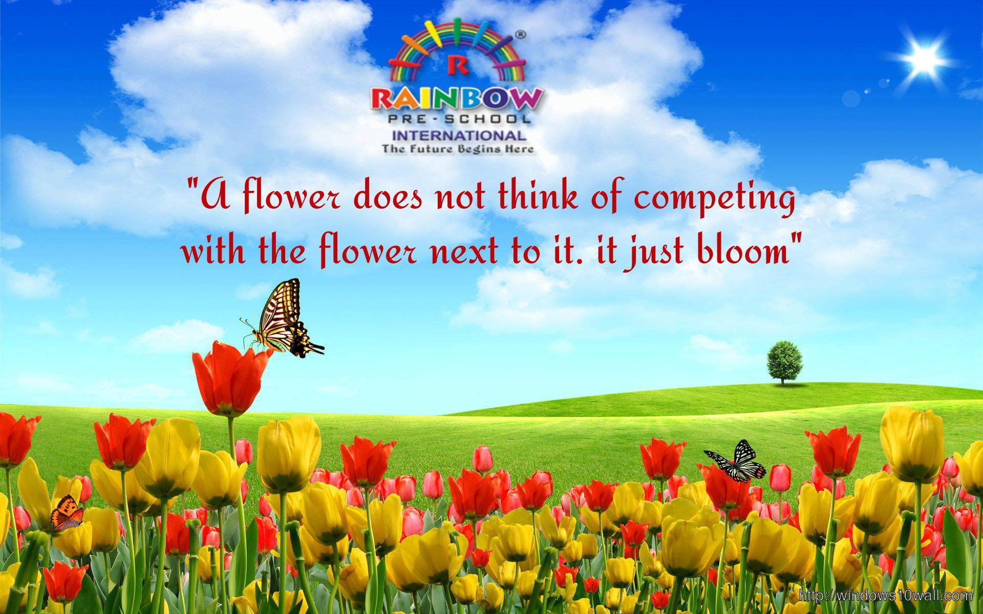 pinrainbow preschool international ltd on goodmorning | quotes