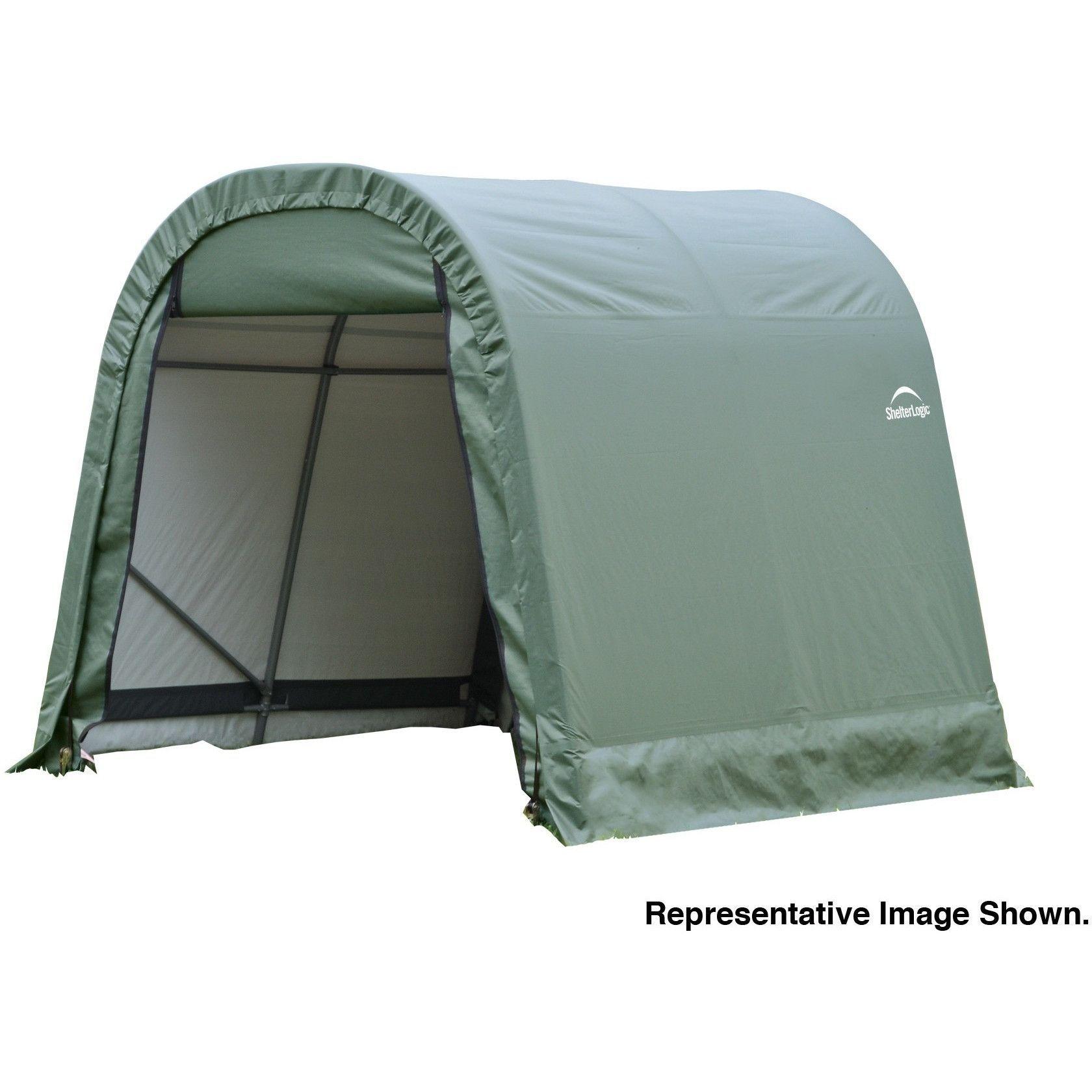 ShelterLogic GREEN SHELTERCOAT ROUND STD 10 X 16 X 8 77824