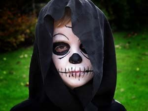 So Grim Reaper And Best Childrens Face Paints Ever Littlestuff | Halloween | Pinterest | Grim ...