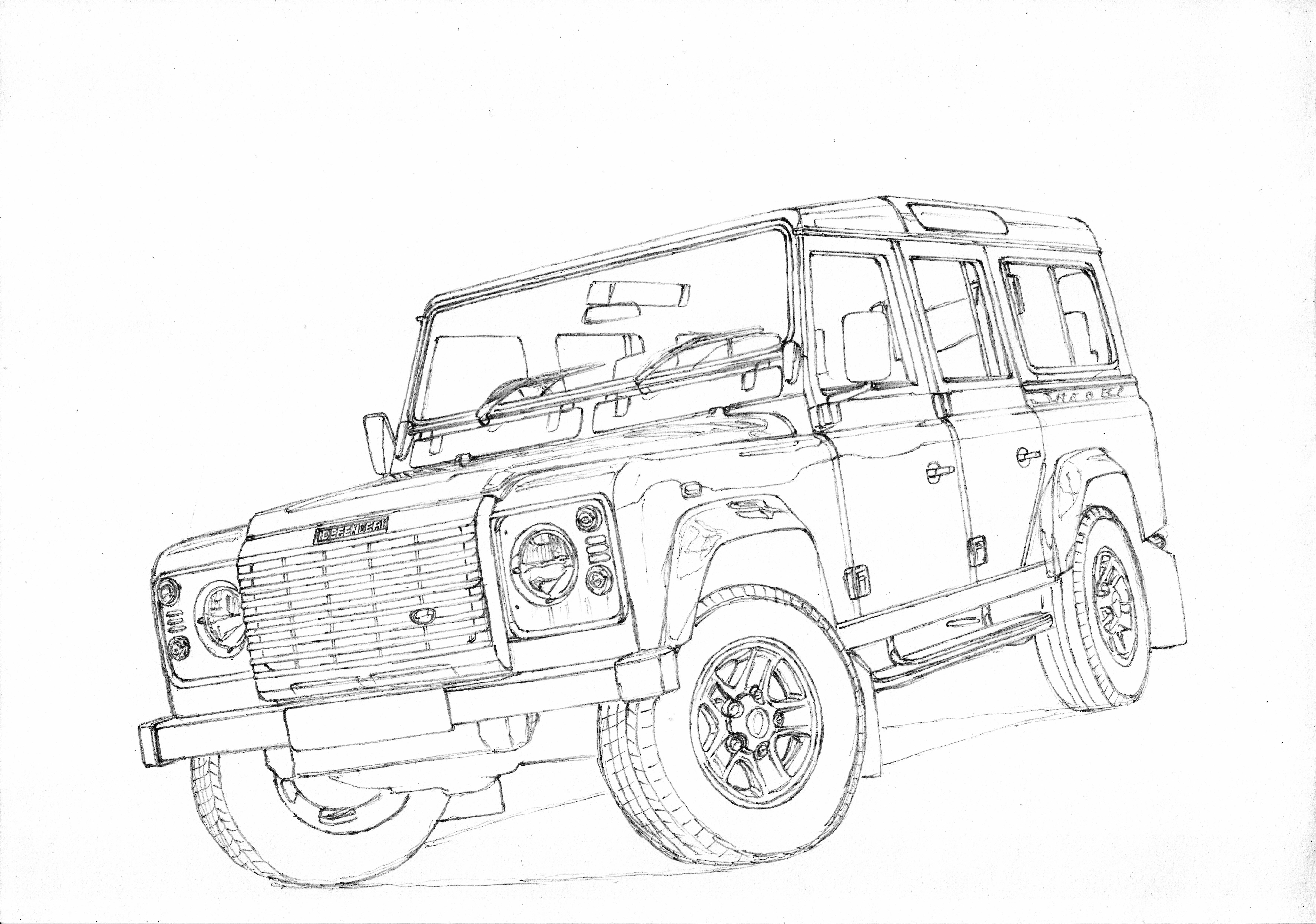 Land Rover Defender 110 1 3 A Sketch Of My Favorite Offroad Car Landrover Defender Britain England Land Rover Defender Land Rover Defender 110 Land Rover