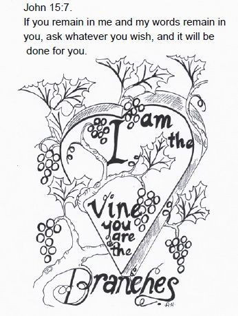 Heartvineimage Jpg 346 459 Sunday School Lessons Bible Lessons For Kids Bible Verse Coloring Page