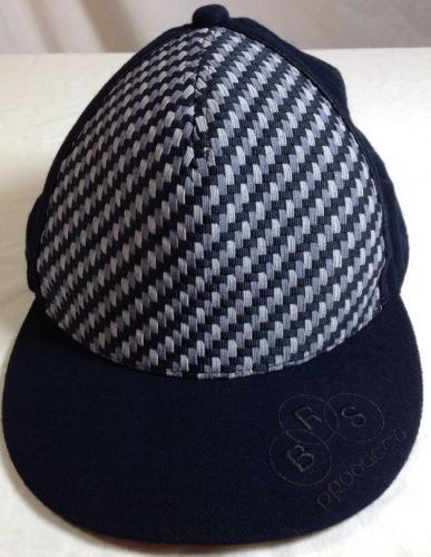 d520069825c Nike Air Force One Snapback 7 3 8 Mens BRS Front Panel Weave Cap Hat Gray  Black