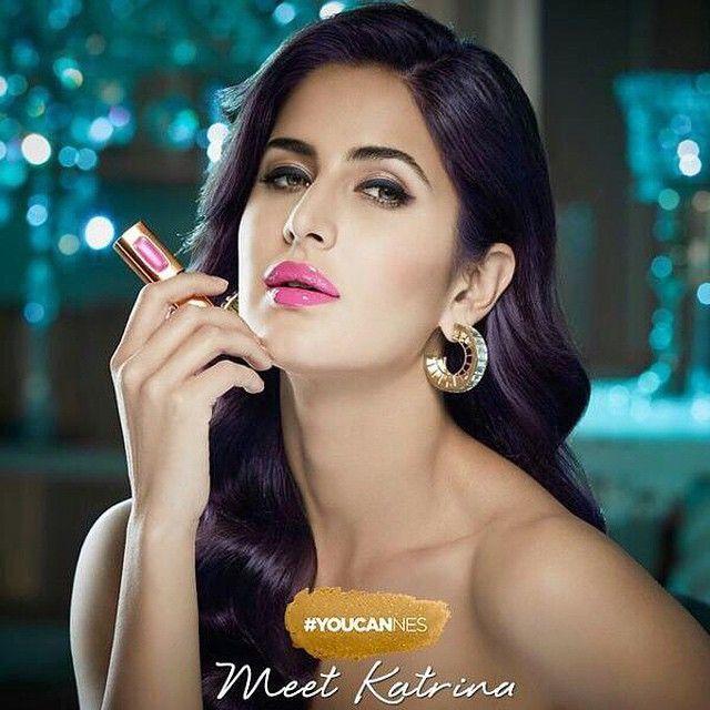 Prism Mirror Front Hoop Earrings Katrina Kaif Photo Katrina Kaif Katrina