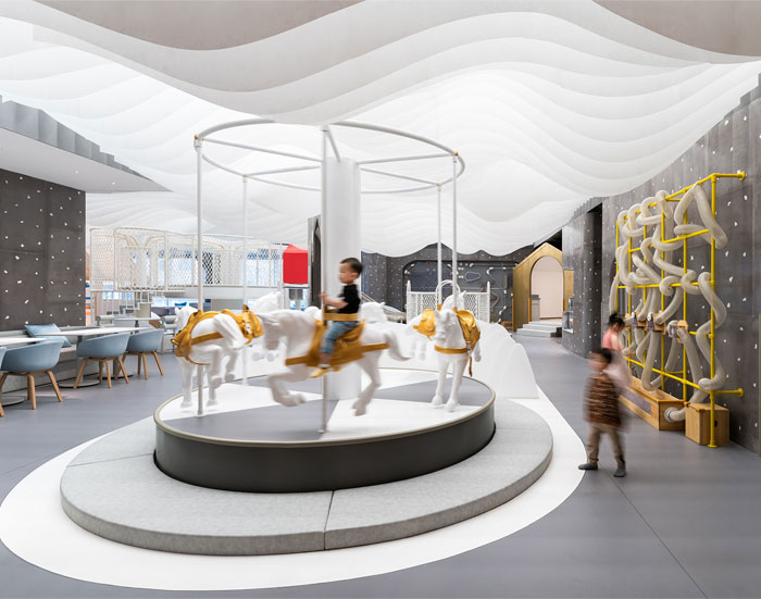 Office Interior Design Cost Per Square Foot Modern Office Interior Design Office Interior Design Websites Business Offi In 2020 Kids Cafe Cafe Design Cafe Pictures