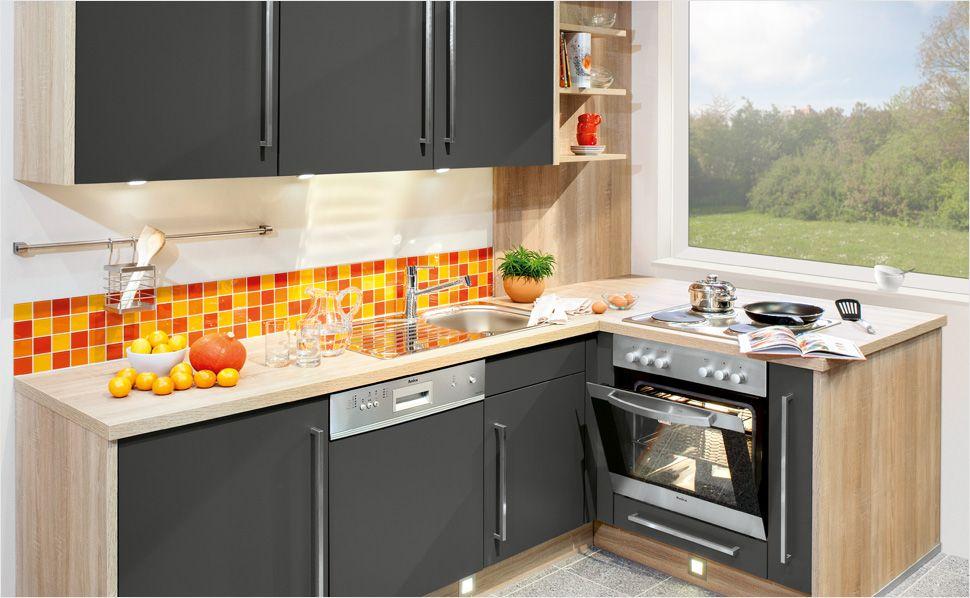 Kleine Küche? Auch platzsparende Küchen können optisch überzeugen