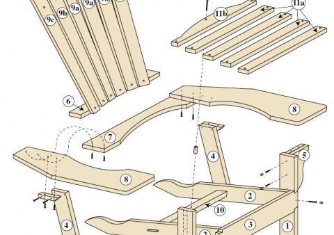 fauteuil adirondack 2016 fauteuil pinterest fauteuil adirondack fauteuils et chaises. Black Bedroom Furniture Sets. Home Design Ideas