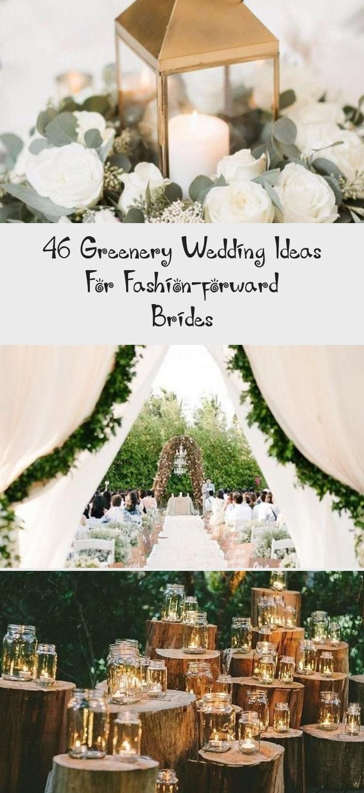 46 Greenery Wedding Ideas For Fashion Forward Brides Gardenweddingbouquet Gardenweddingstage In 2020 Greenery Wedding Garden Wedding Bouquet Secret Garden Wedding