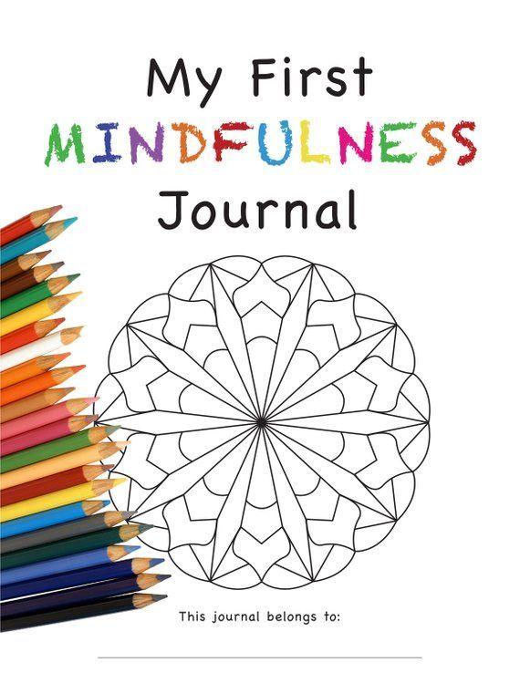 PRINTABLE 30 Day Mindfulness Journal and Mandala Coloring ...