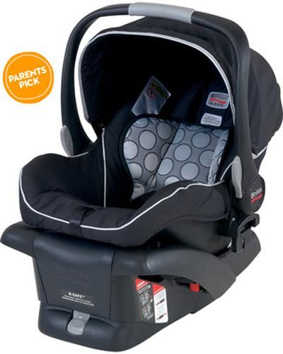 Strategically Placed Padding And An Energy Absorbing Lining Make This Infant Car Seat Safe