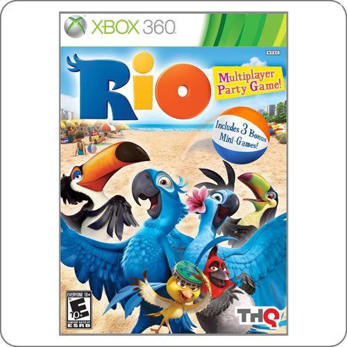 Xbox 360 Rio The Game R 99 90 Jogos Pinterest