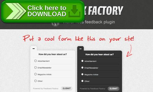 Free nulled Feedback Factory download - free feedback form
