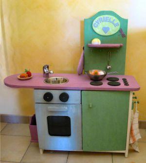 Cuisine En Bois Enfant Niñerias Pinterest Cuisine - Fabriquer cuisine enfant