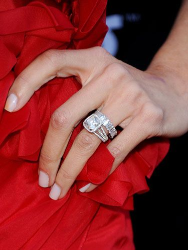 Great Giuliana Rancic Engagement Ring. Celebrity Rings