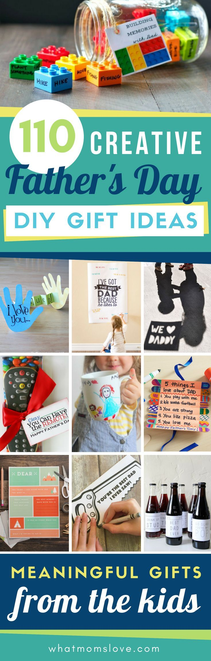 Diy fathers day gift ideas from kids fathers day diy