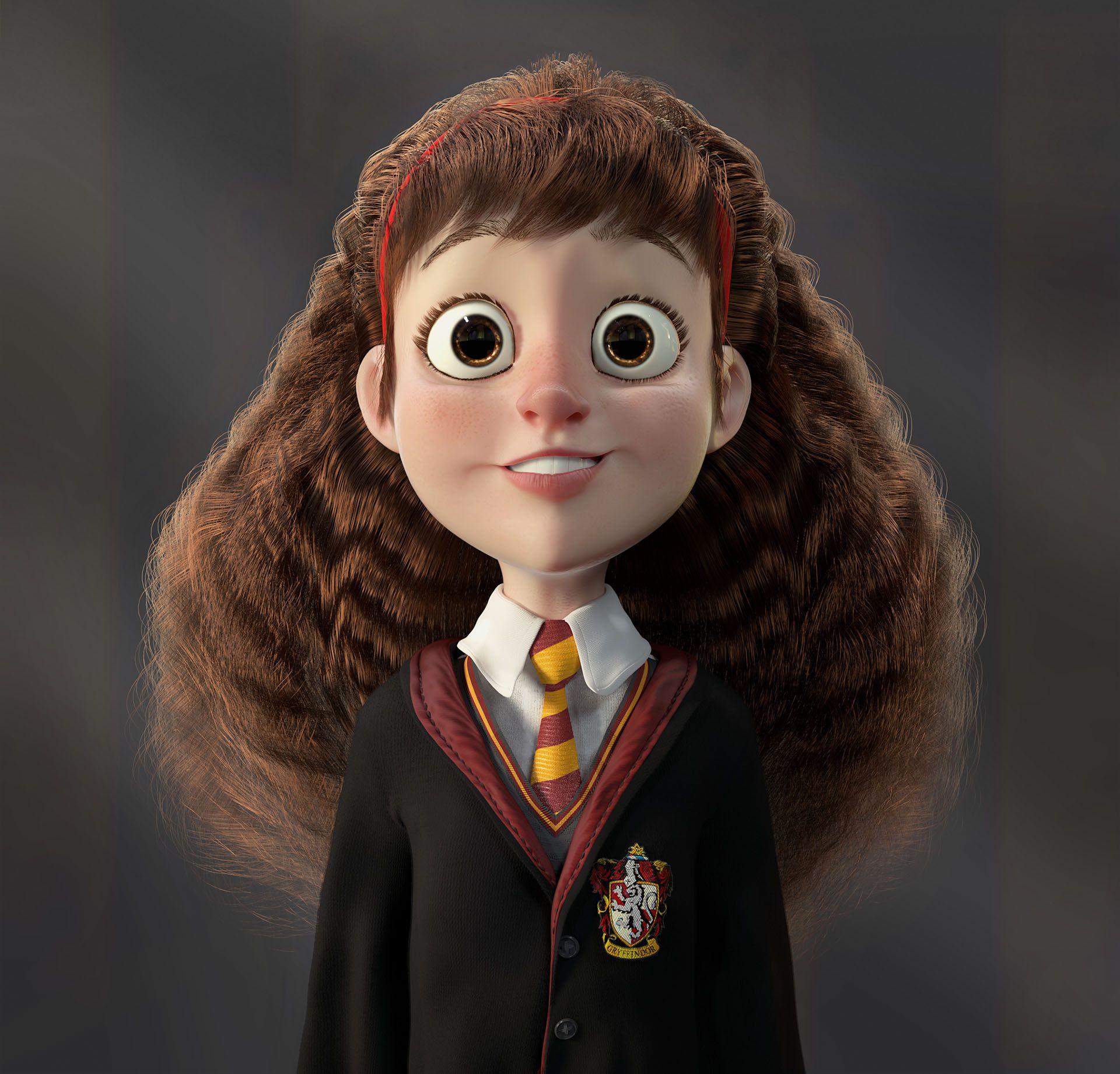 Srta Granger On Behance Garri Potter Volshebnye Sushestva 3d