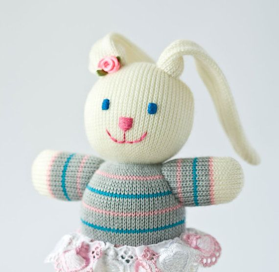 Baby bunny knitted toy easter gift stuff animal toy knitted baby bunny knitted toy easter gift stuff animal toy knitted doll negle Gallery