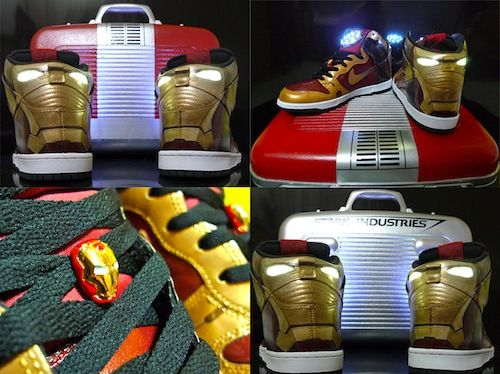 Ironman Nike trainers. Too much flair for me. and yes you