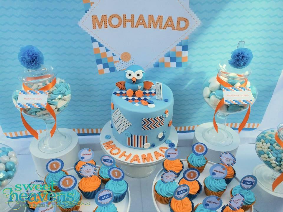 giggleandhootpartycake Party cakes, First birthday