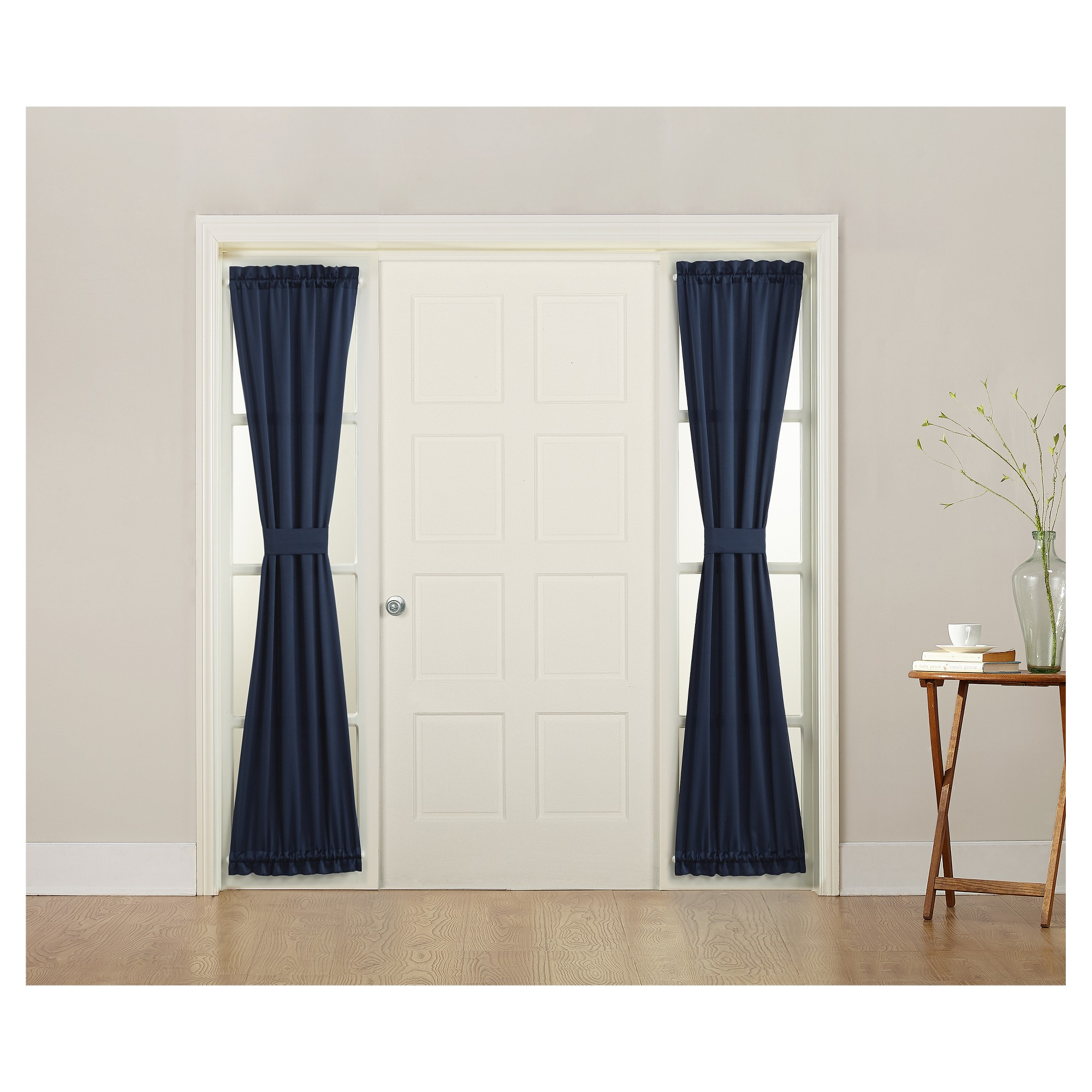 uncategorized blinds door curtain over for inspiration style and best curtains front sidelight home rod nsyd