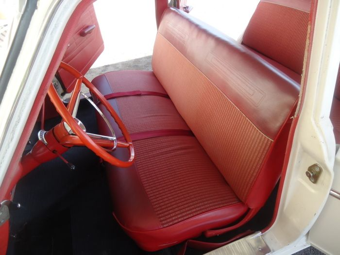 Outstanding 1964 Ford Fairlane Sedan Interior Love The Red Bench Seat Gmtry Best Dining Table And Chair Ideas Images Gmtryco